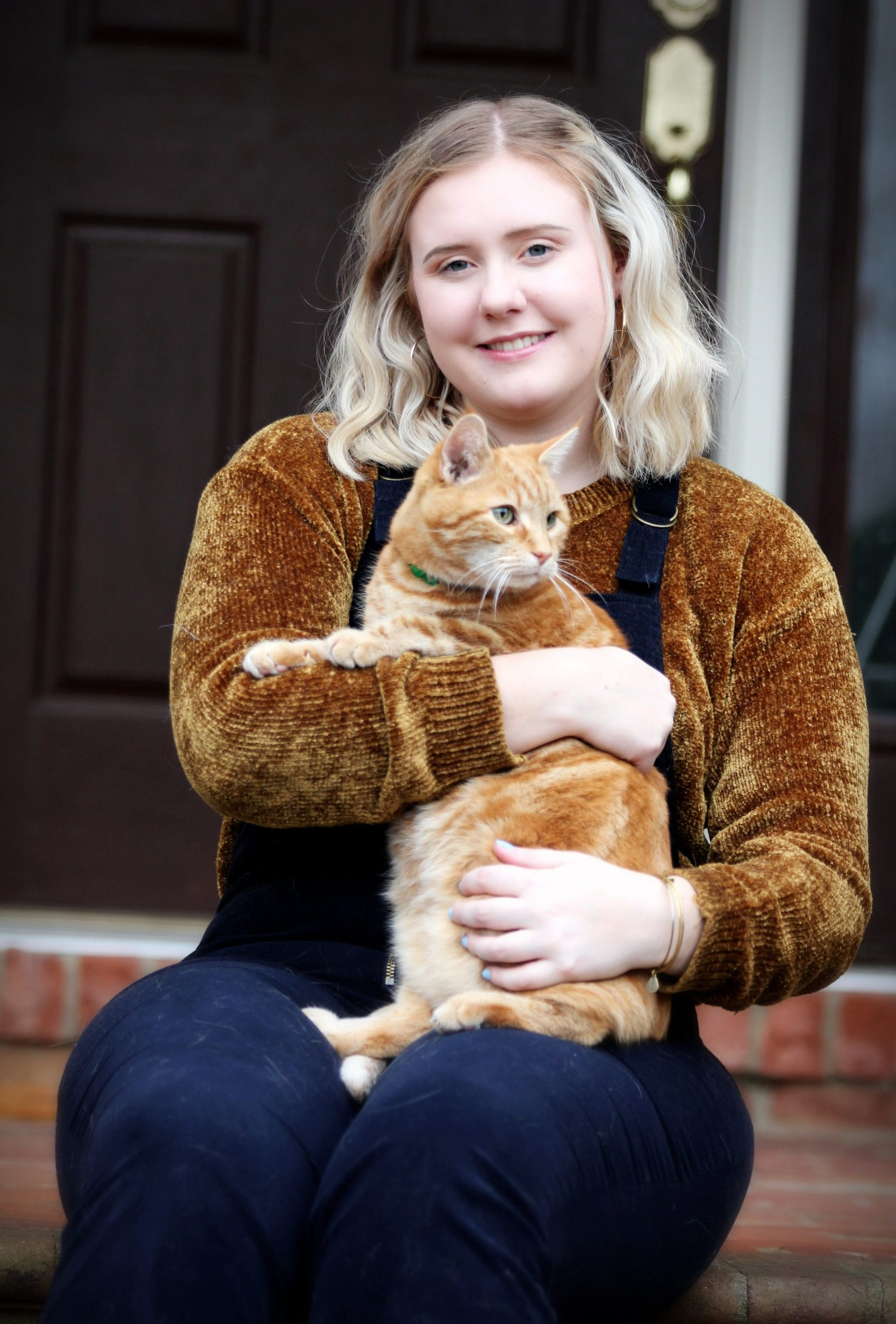 A4 - Girl with Cat