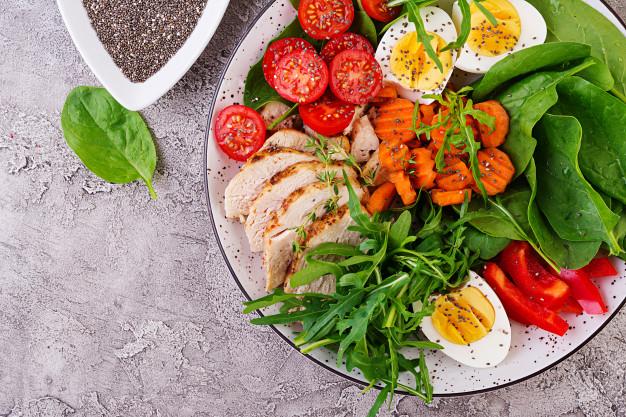 B3 - salad